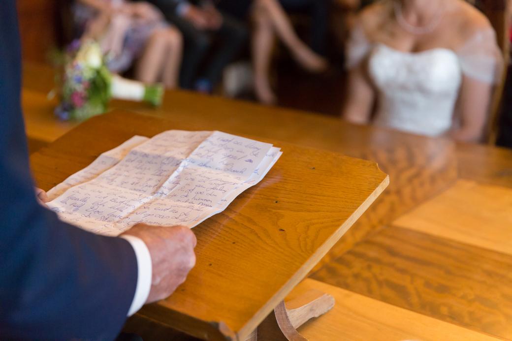 Speech op bruiloft
