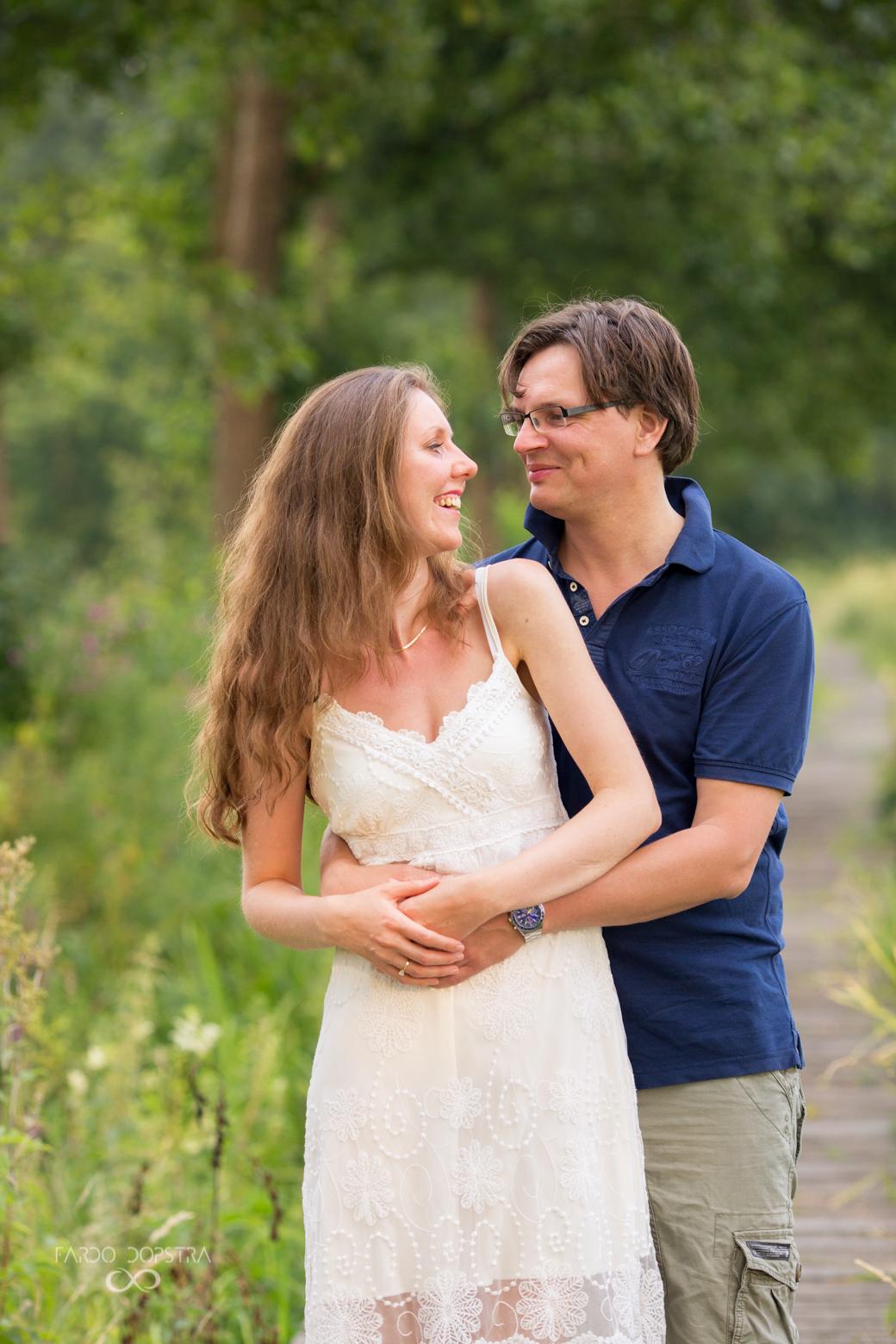 Engagement shoot Groningen Drenthe