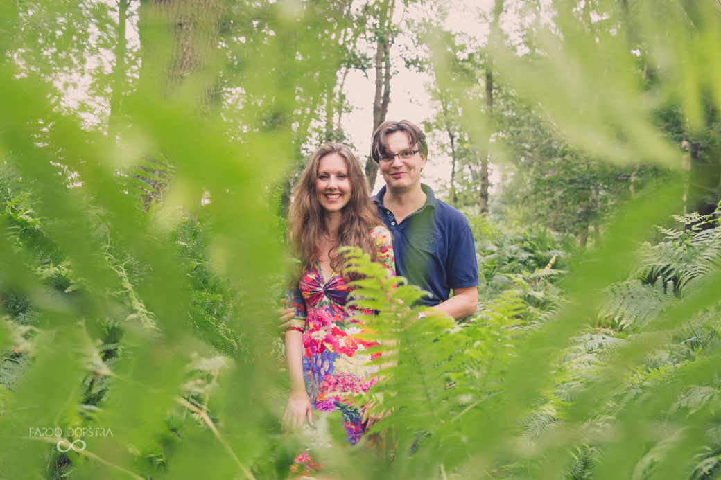 Engagement shoot Drentsche Aa