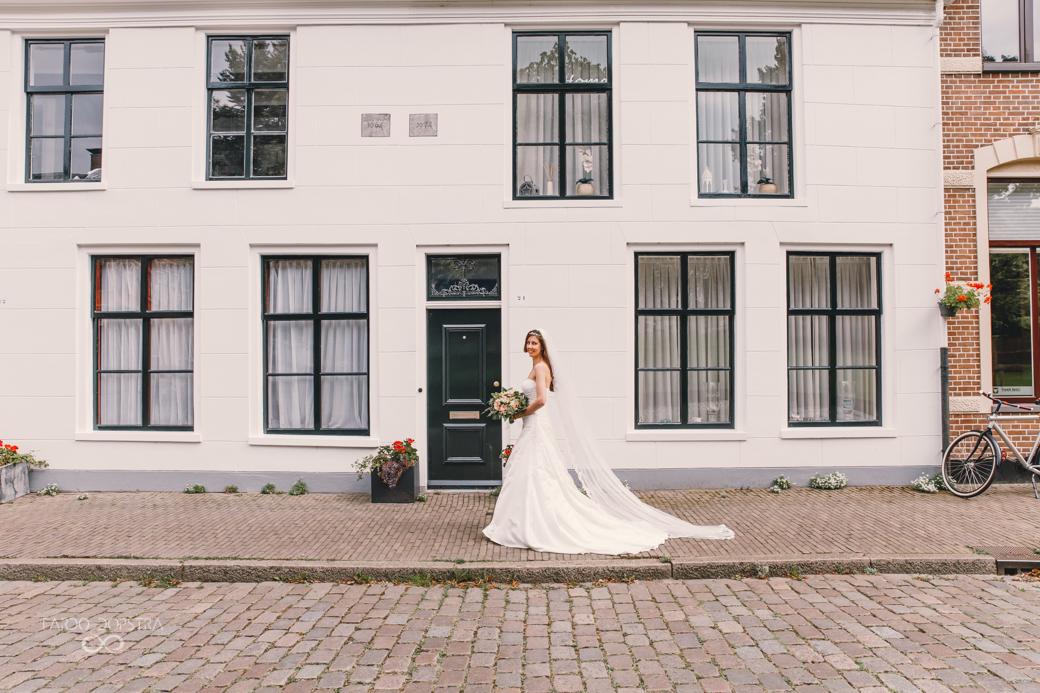 Bruidsfotografie Martinikerkhof