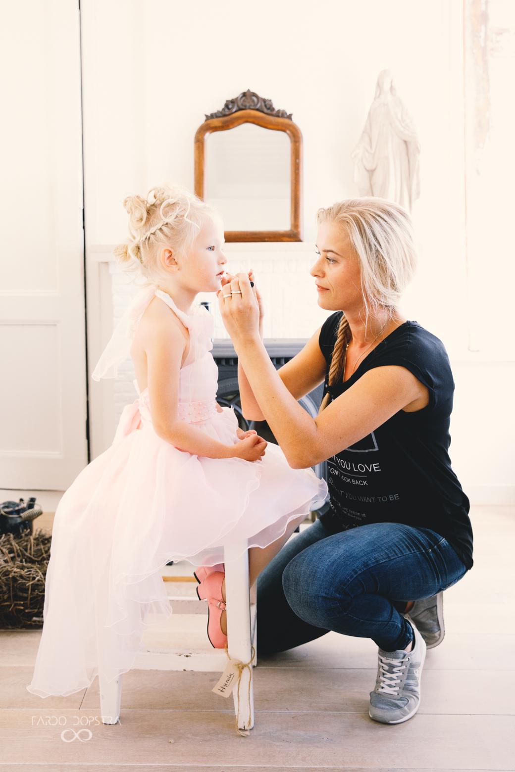 Bruidsmake-up Lydia Nicolai