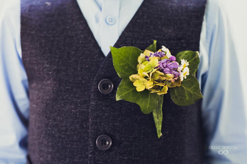 Corsage bruiloft