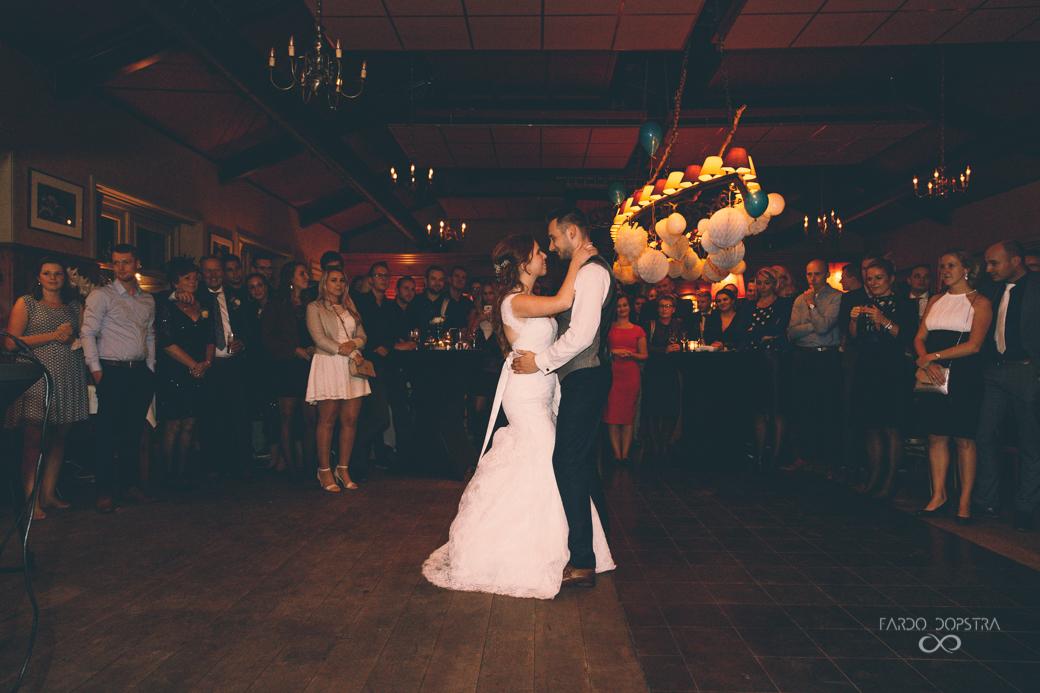 Feestfoto's bruiloft