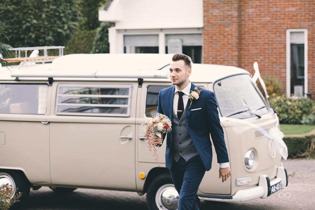 VW T2 Busje huren bruiloft