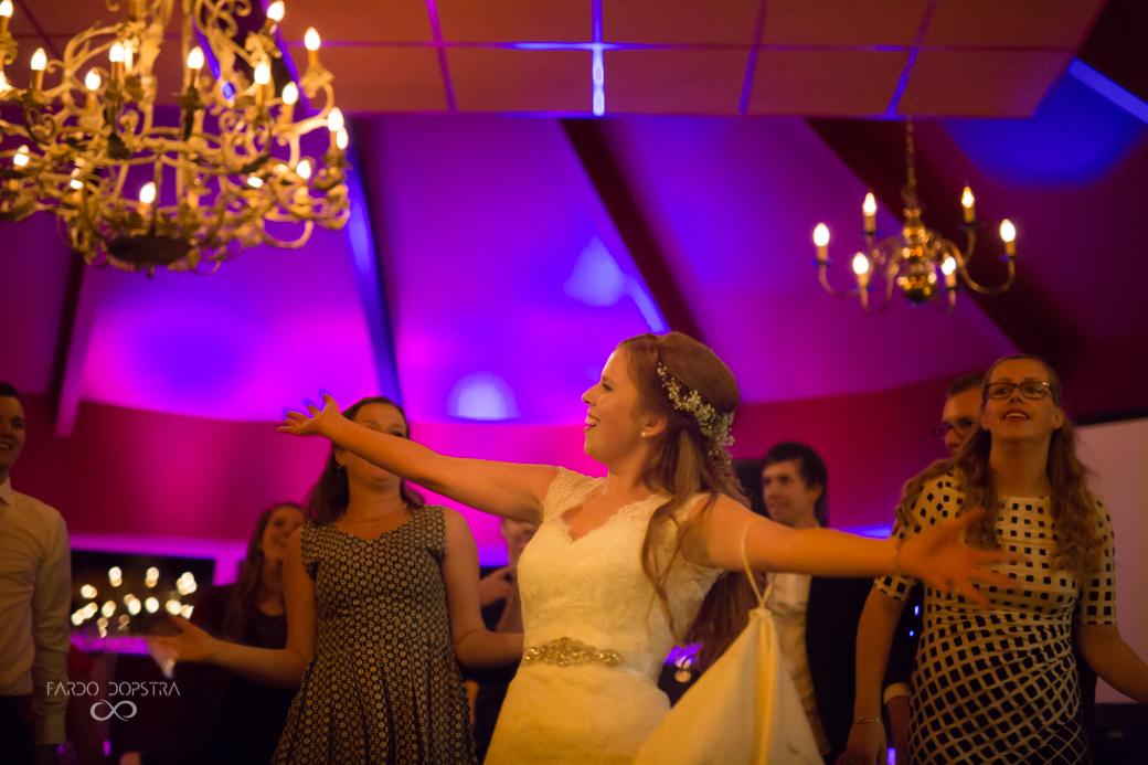 Feestfoto bruiloft