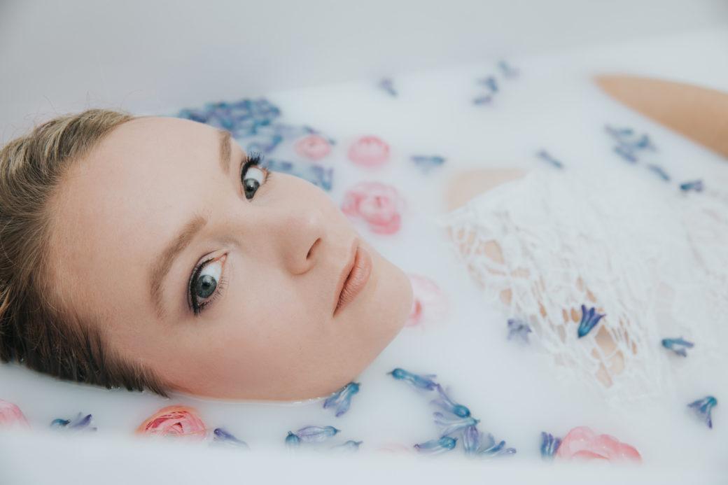 Milk bath photos