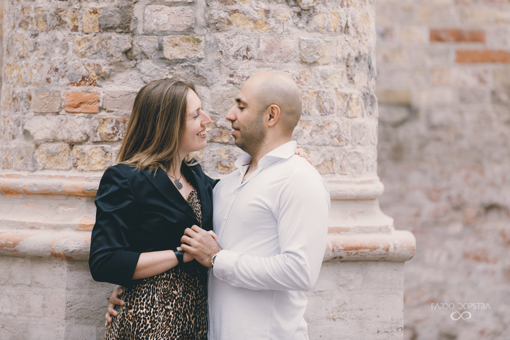 engagement shoot Bolsward Broerekerk