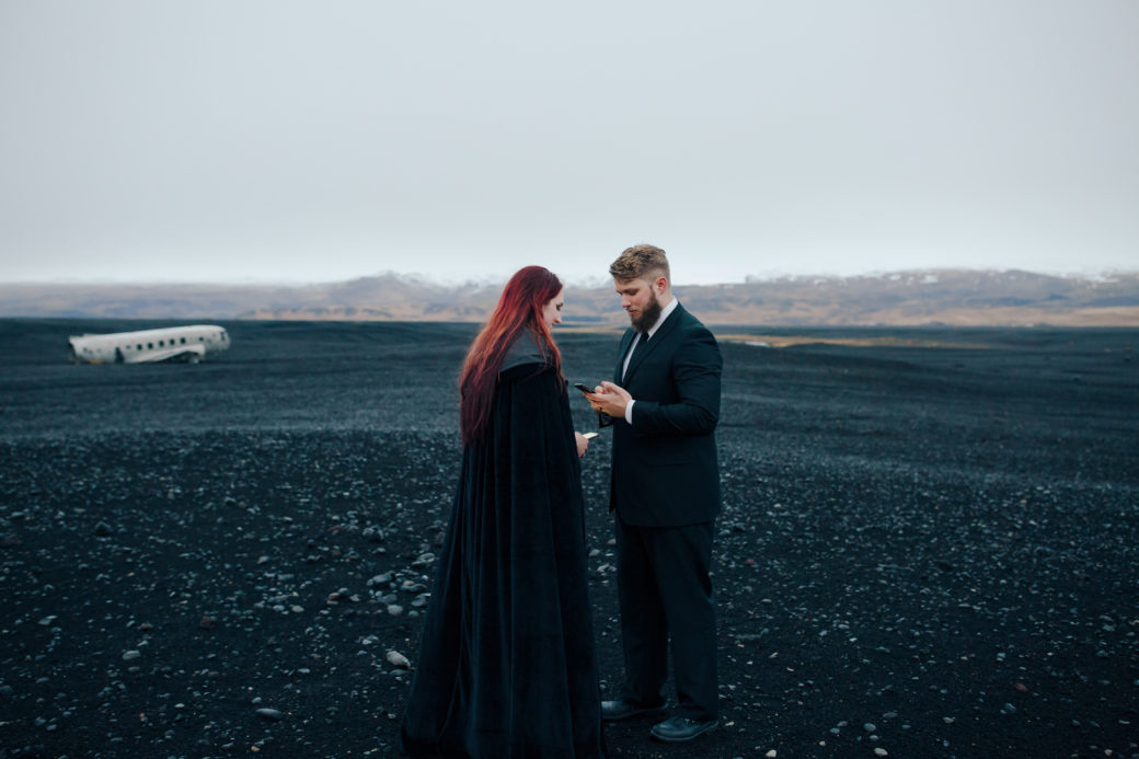 Iceland Vow Renewal Photographer