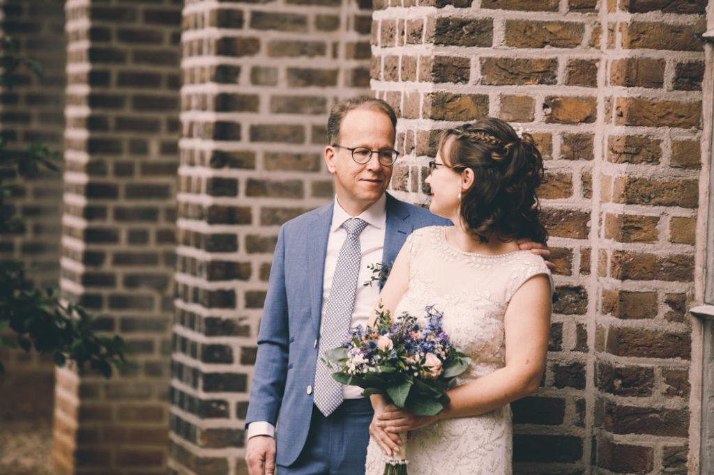 Bruidspaar bij Leerhotel 't Klooster Amersfoort