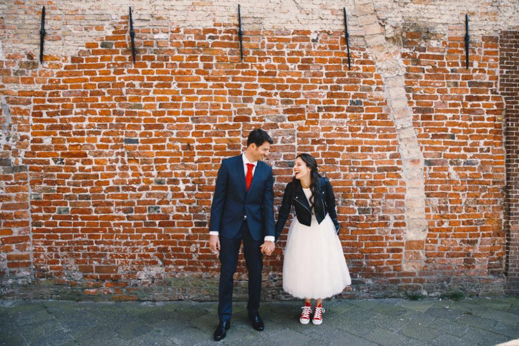 Spontane trouwfotografie Groningen