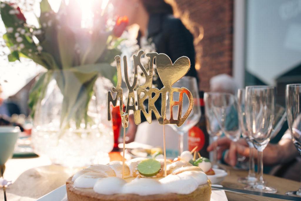 Receptie bruiloft thuis houden