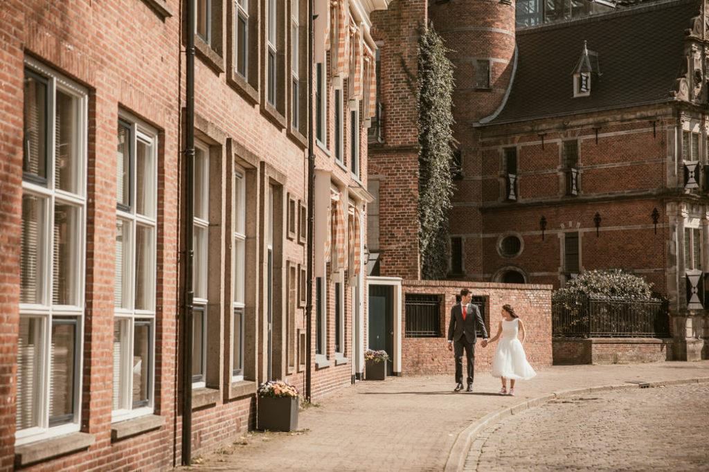 Trouwfotograaf Groningen met Bruidspaar in Groningen